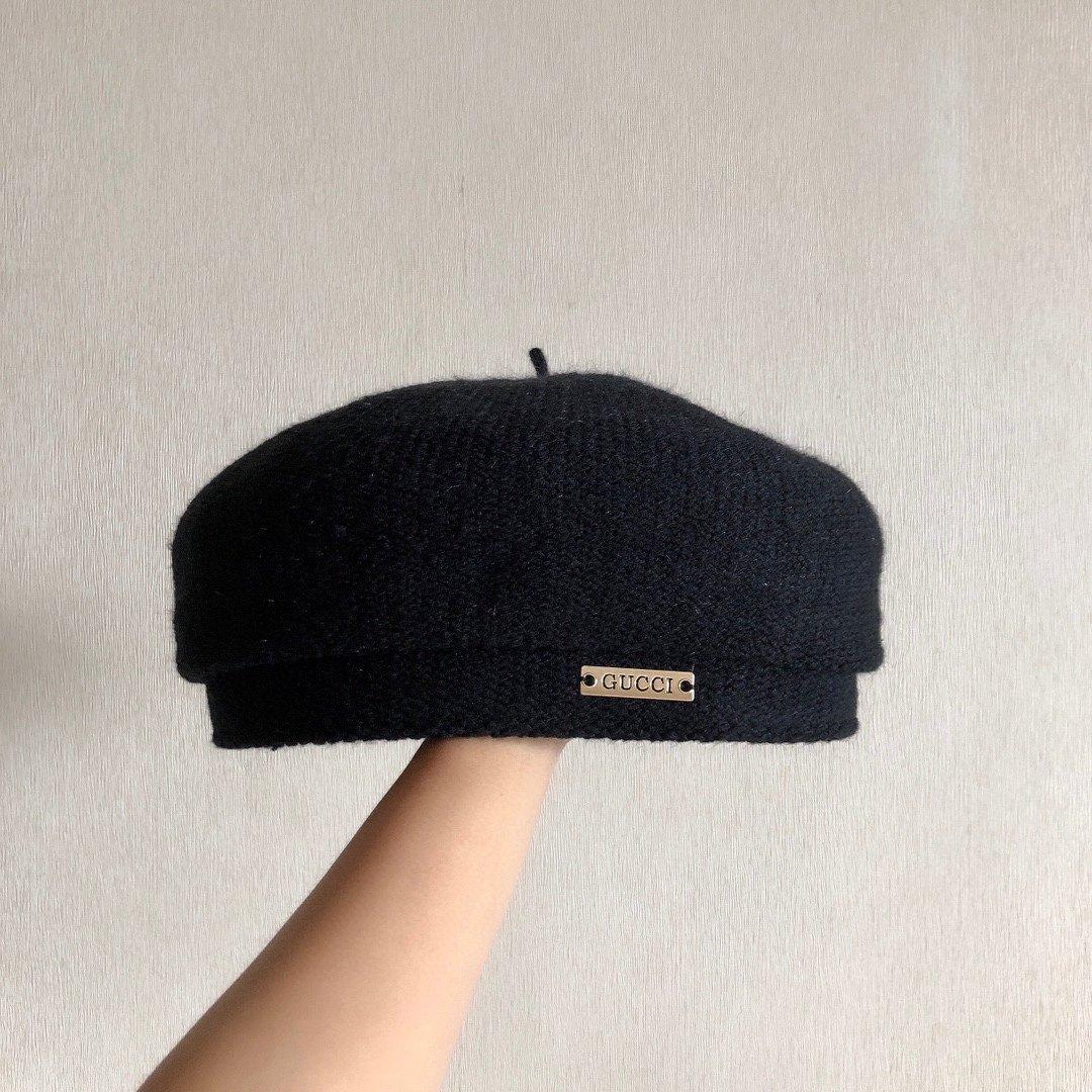 Dior迪奥高品质针织八角贝雷帽全水