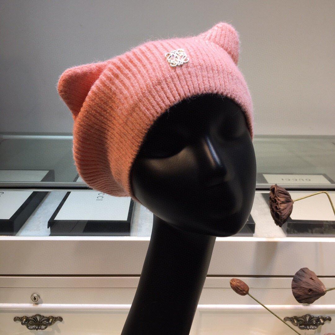 上新罗意威loewe新品耳朵贝雷帽甜
