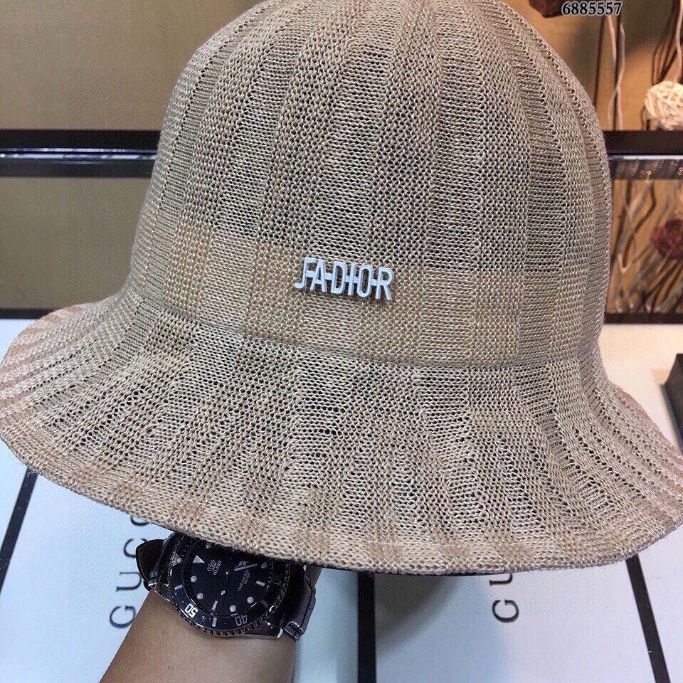 Dior迪奥2020新款棉麻草帽礼帽