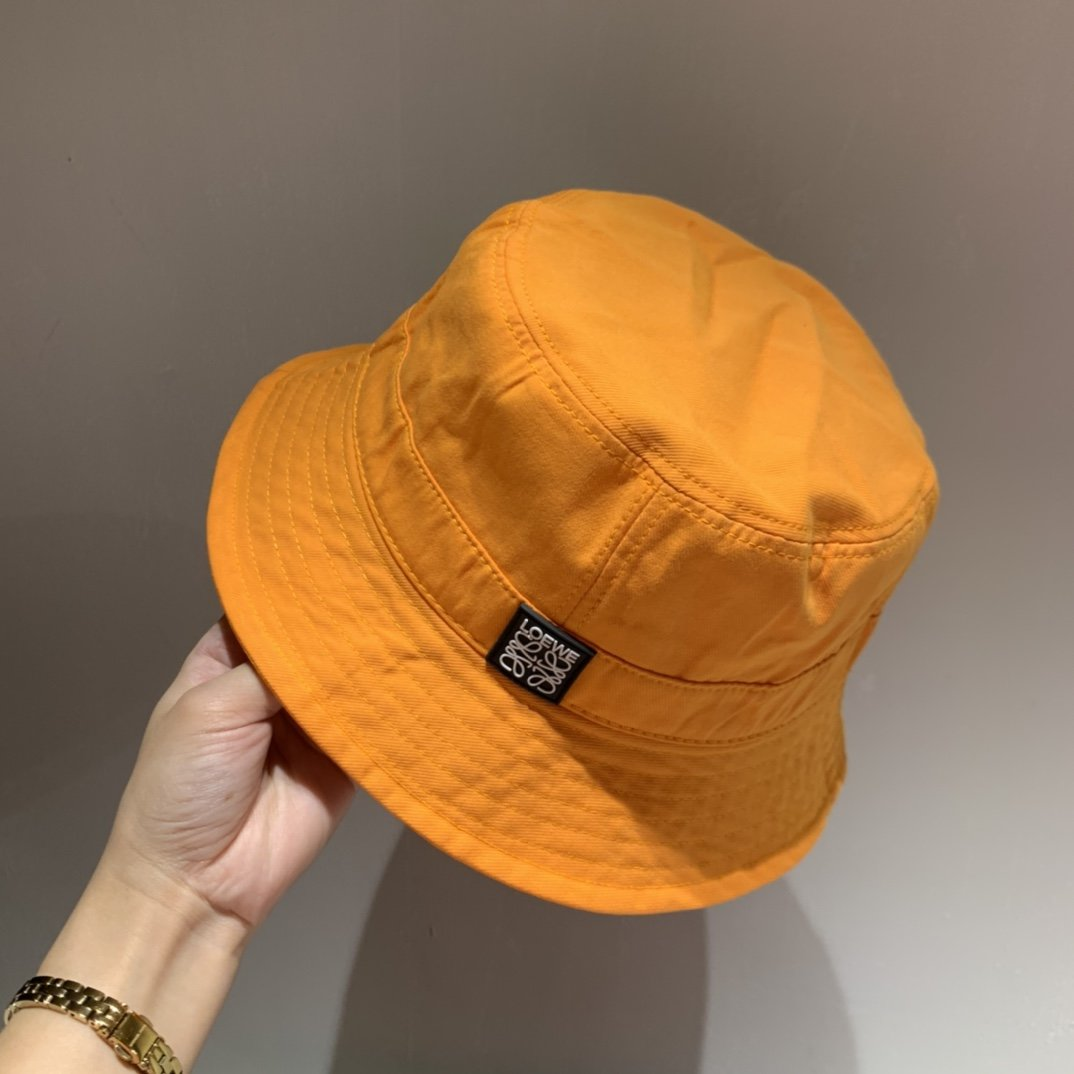 罗意威LOEWE新款渔夫帽帆布帽跑量