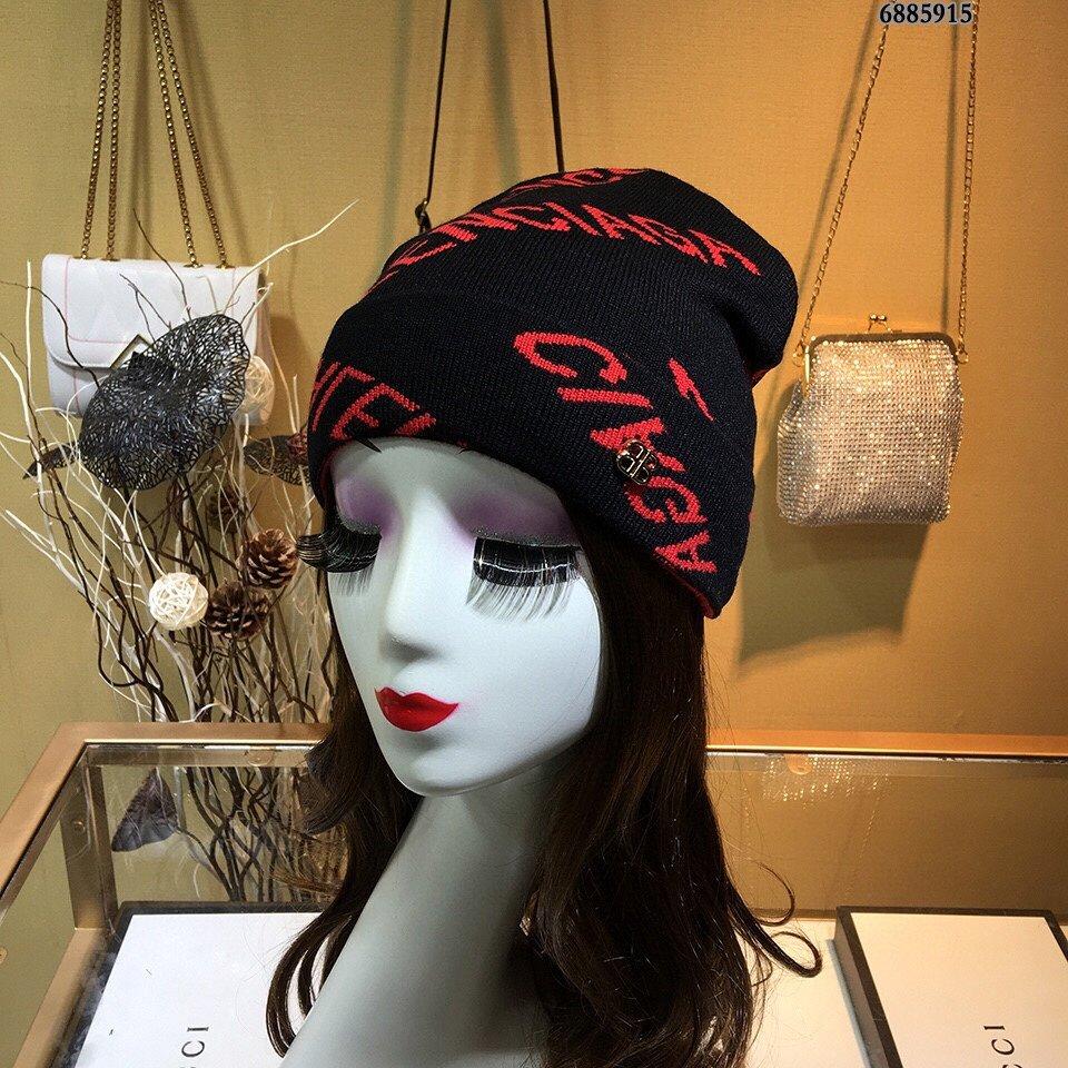 巴黎世家Balenciaga毛线帽俏