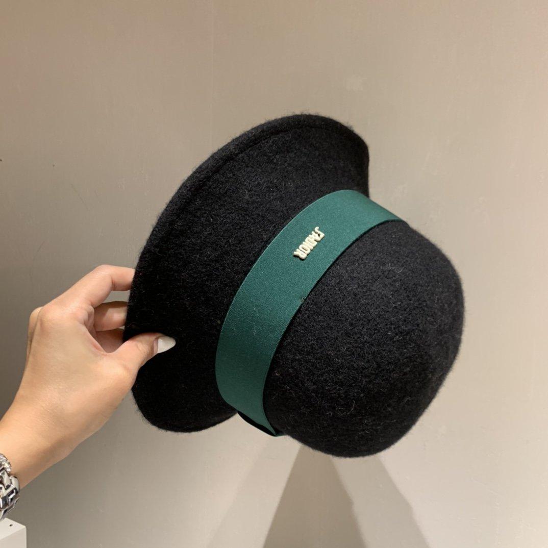 Dior迪奥针织羊毛盆帽毛线礼帽秋冬