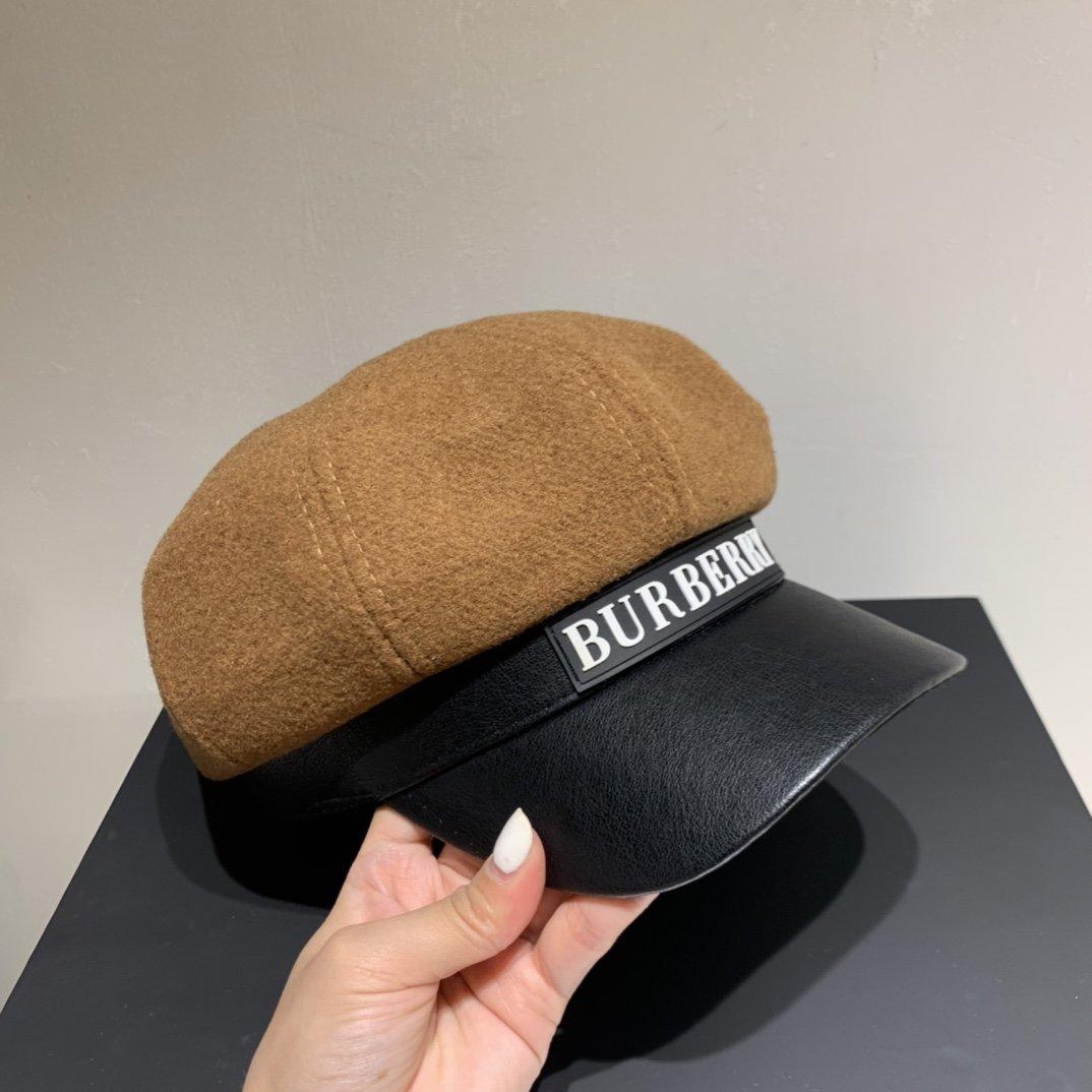 Burberry巴宝莉秋冬新款八角帽