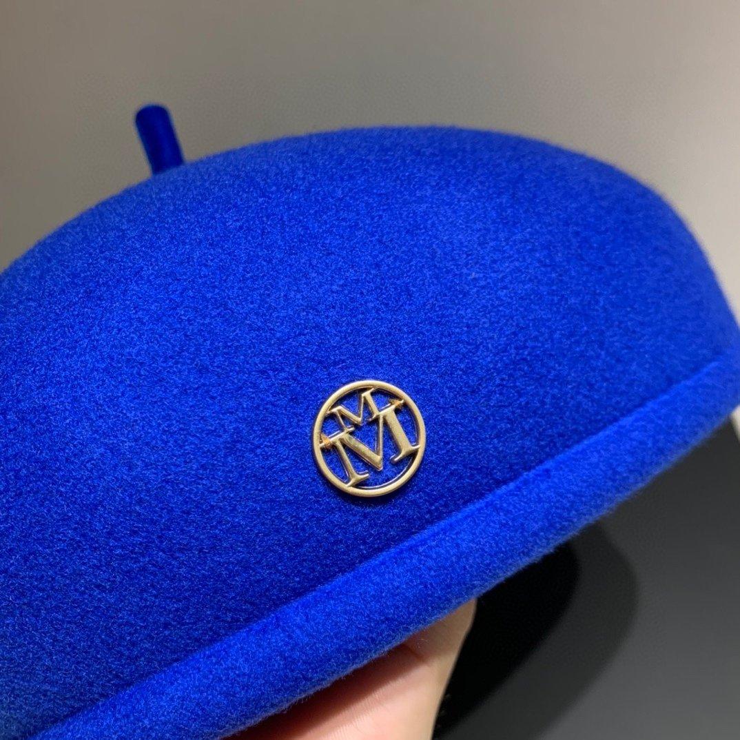 香奈儿旗下M牌南瓜帽贝蕾帽百分百羊毛