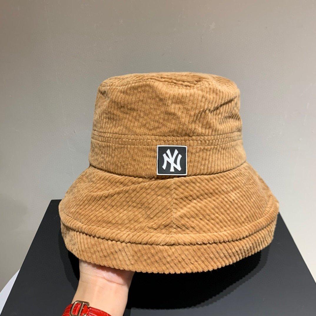 NY灯芯绒渔夫帽秋冬款百搭两色