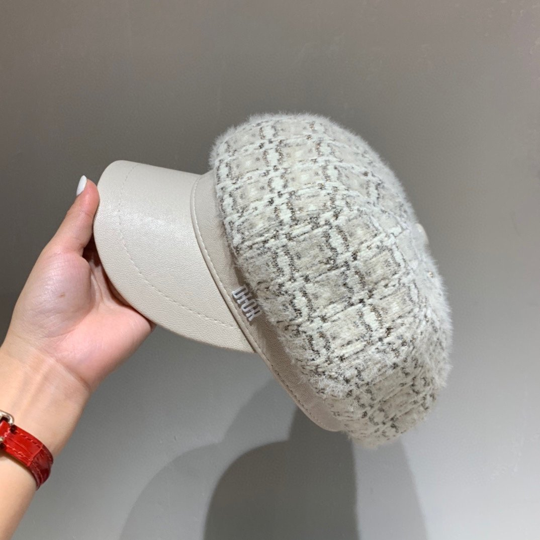 Dior迪奥2020秋冬新款水貂绒南
