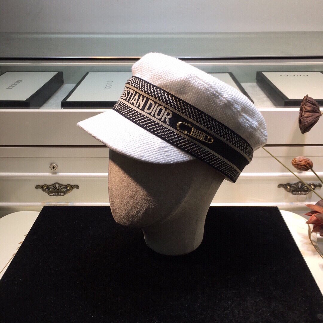 上新DIOR克里斯汀迪奥新品军帽独家