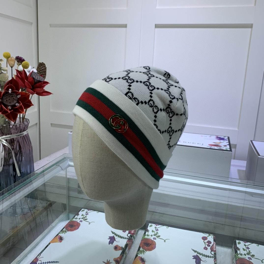 GUCCI古奇官网最新羊毛针织帽官网