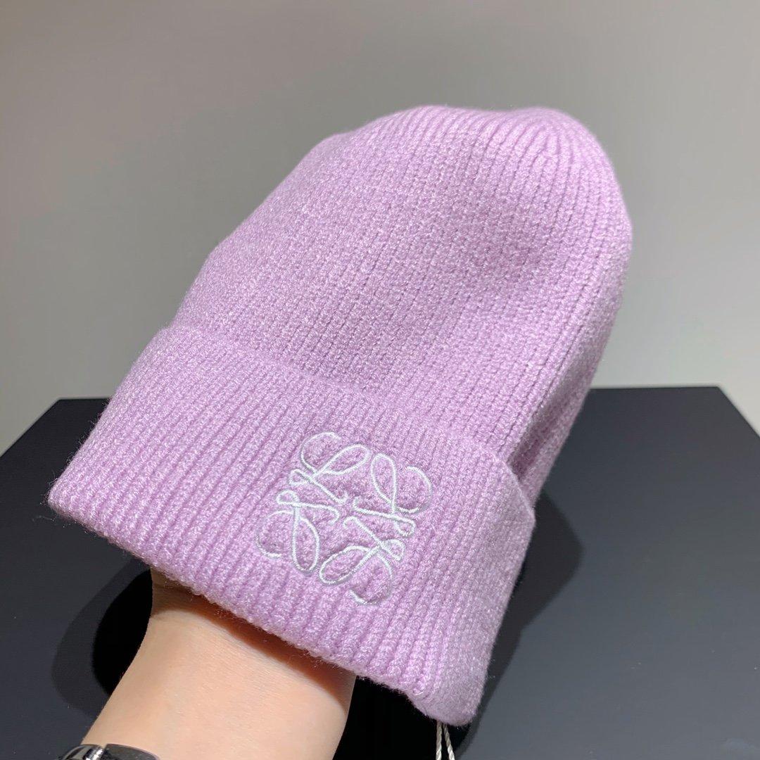 Loewe罗意威新款毛线帽秋冬个性保