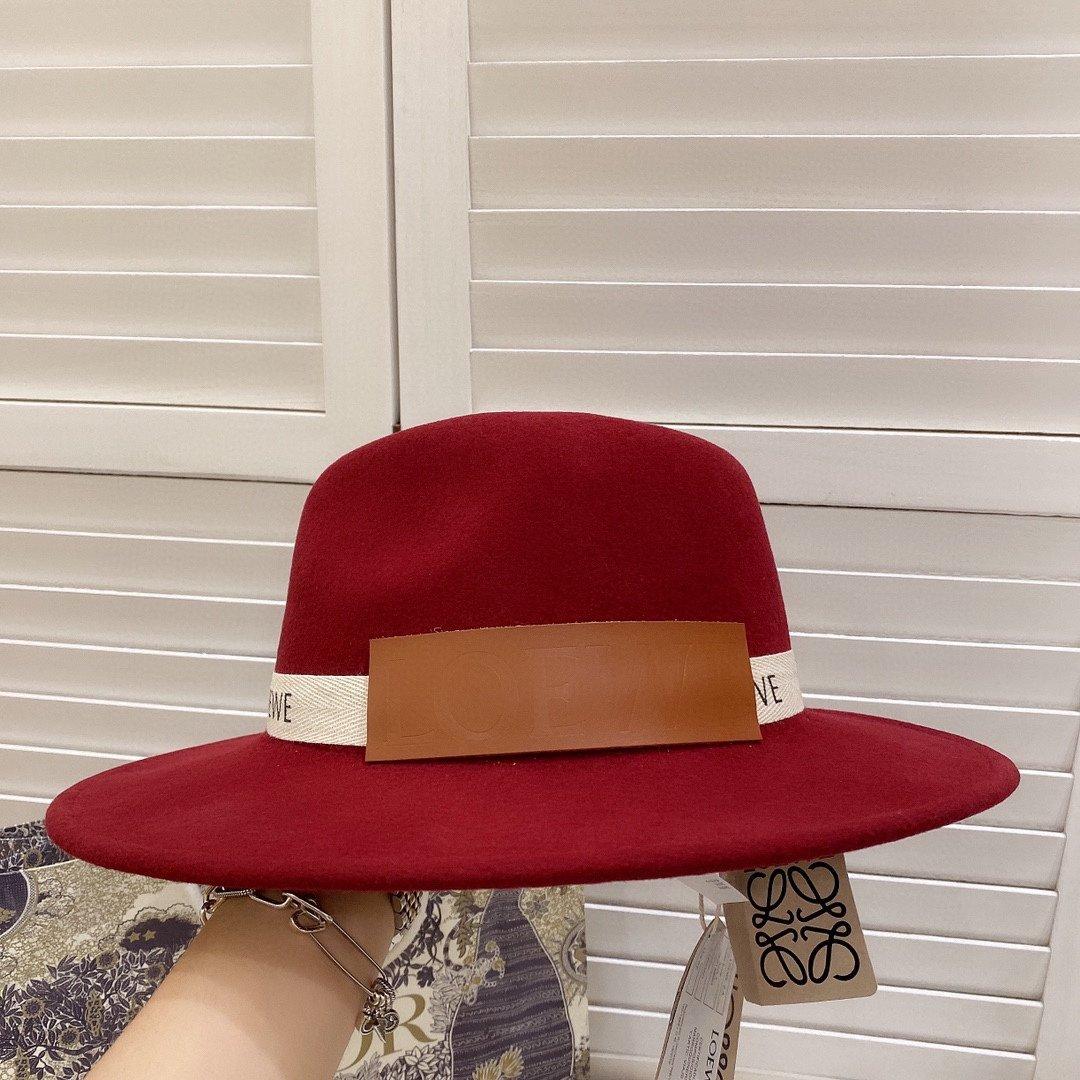 特罗意威2020新款专柜同步羊毛盆帽