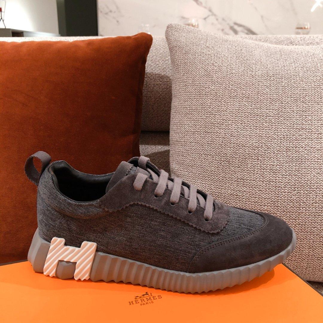 男款+20情侣款Hermes家小白鞋