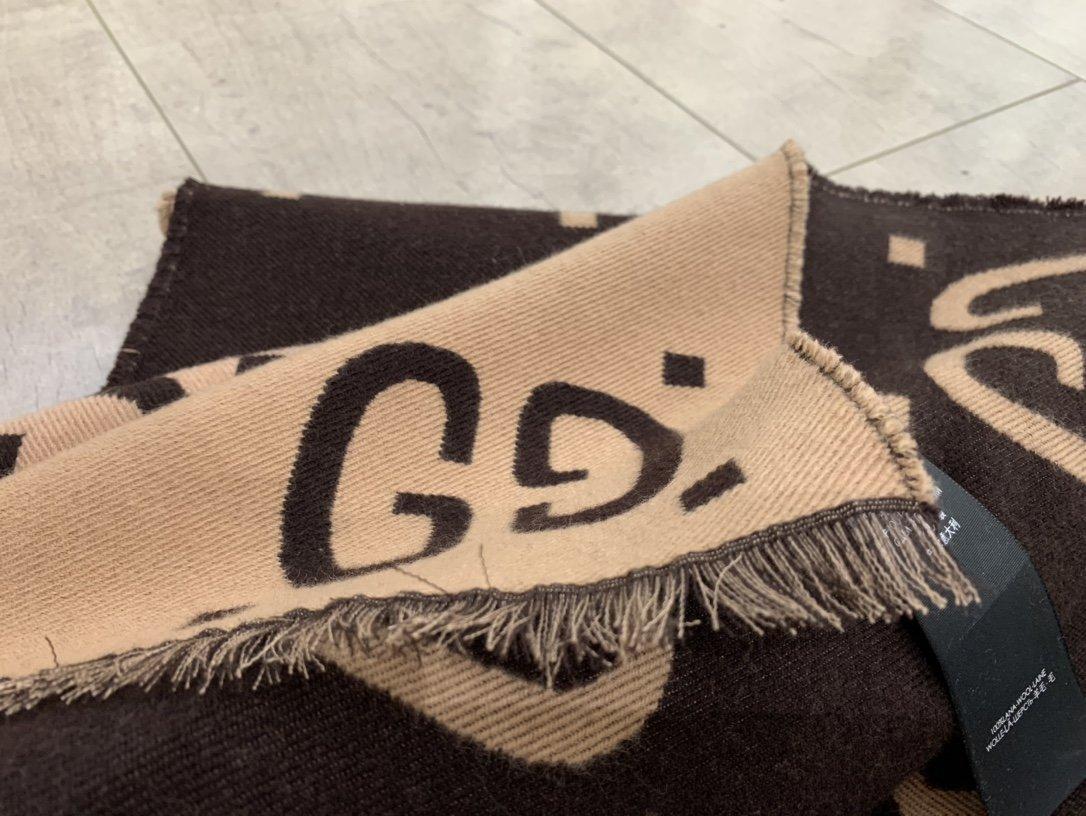 渠道gu7提花围巾承包了好几年的爱纯