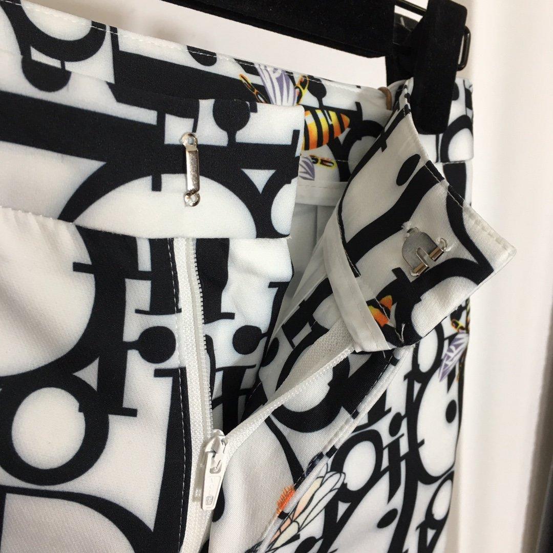 Dior新款D家满身logo字母蜜蜂