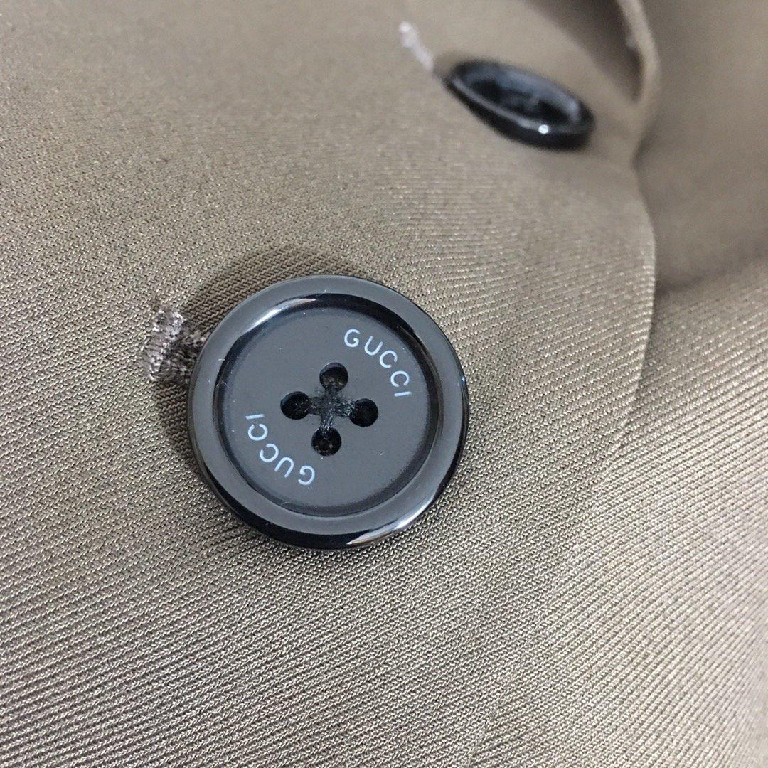Gucci新款领标刺绣定制logo单