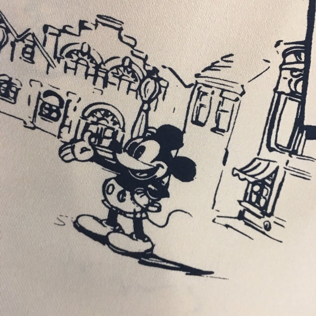 MO&CO新款卡通米老鼠印花高领长袖