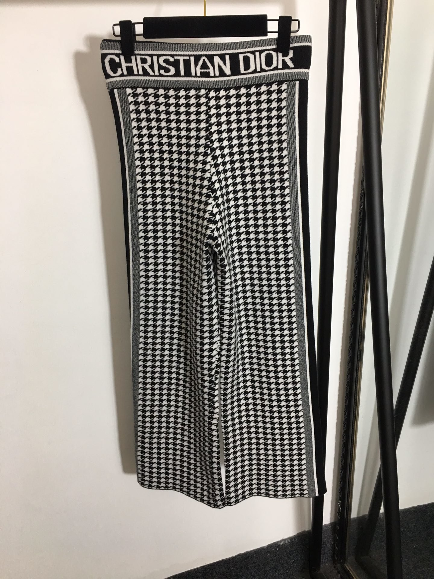 跑量款Dior新款千鸟格圆领套头针织