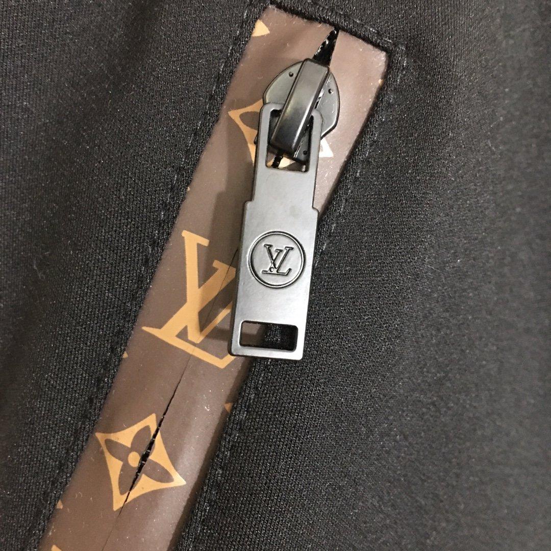LV新款logo织带松紧腰修身显瘦打