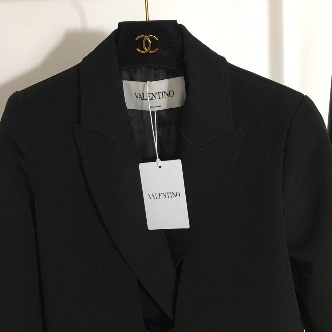 Valentino新款唐嫣同款系带收