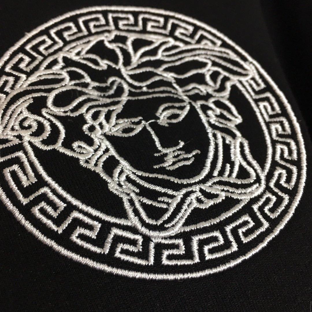 Versace新款美杜莎人像刺绣织带