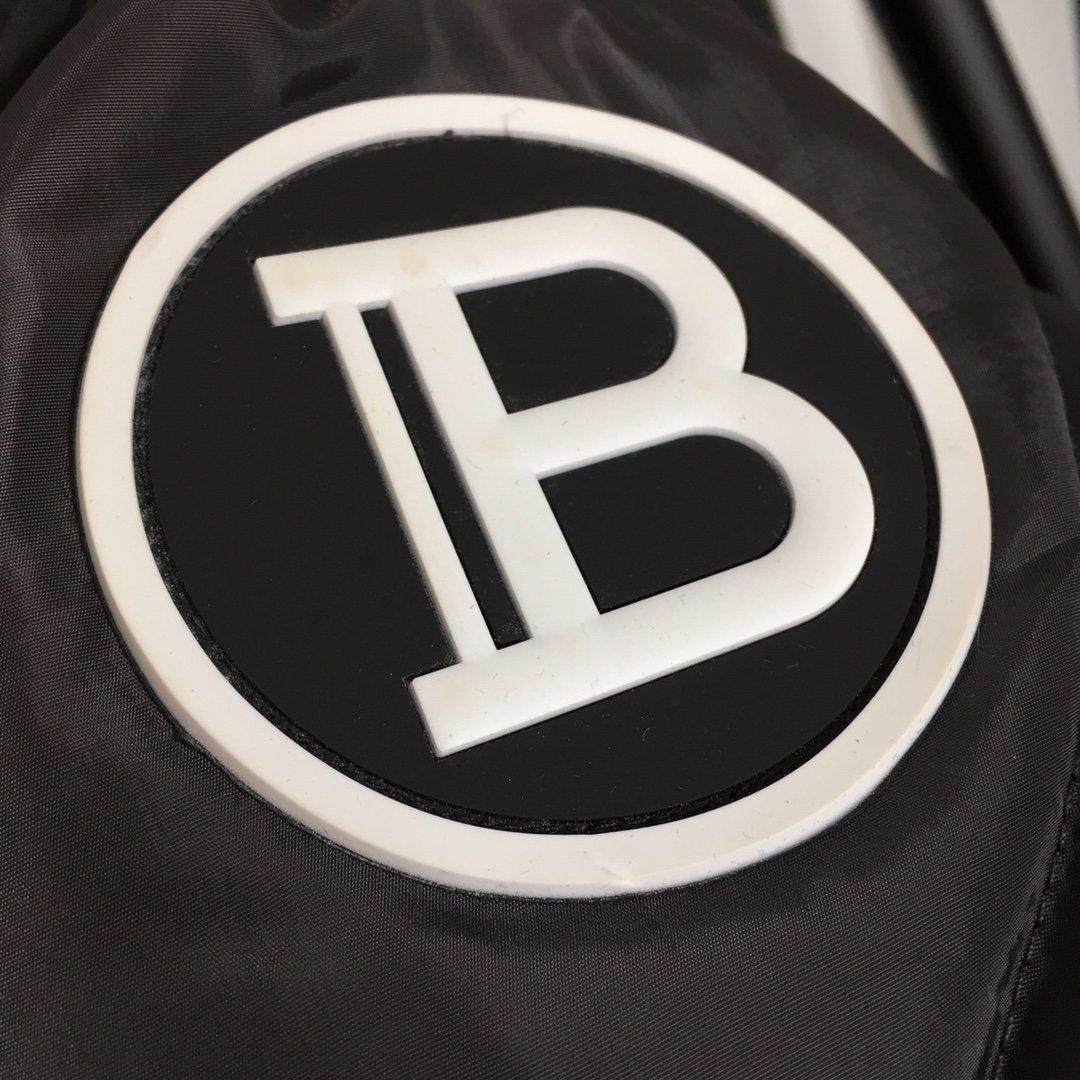 Balmain新款定制logo金属双