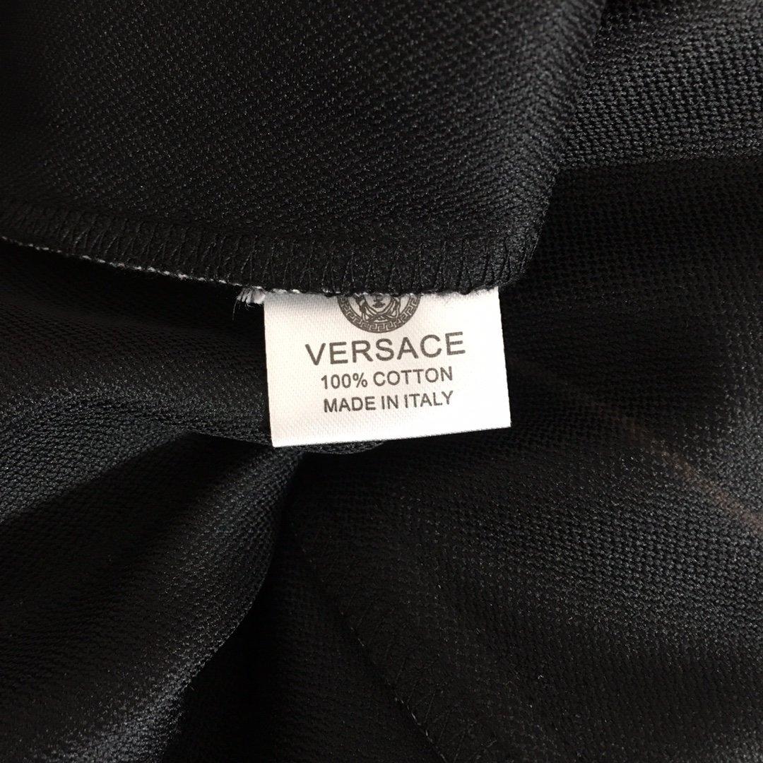 Versace新款杨丞琳同款切割破洞