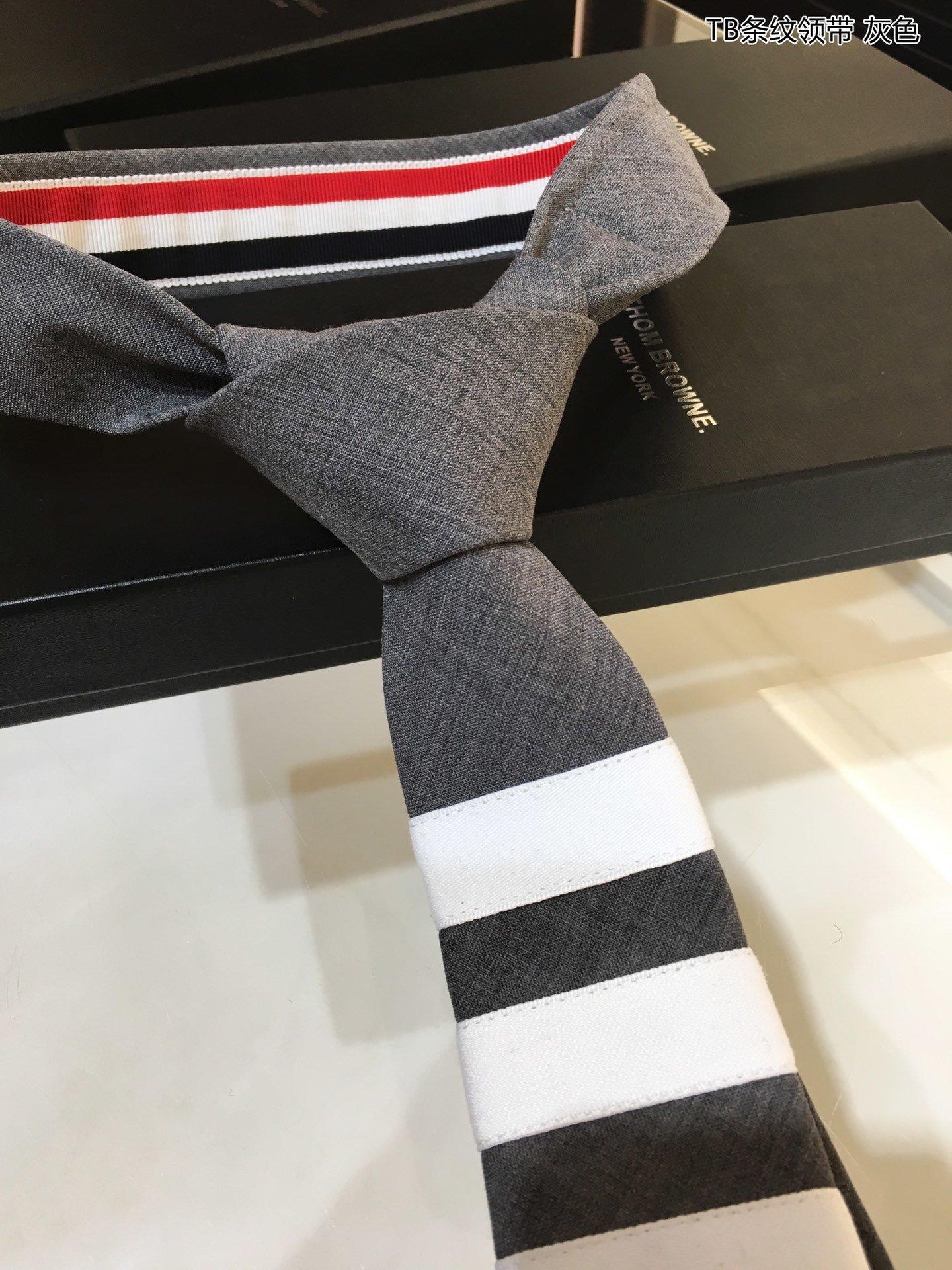 新TB家新款领带配盒子礼品袋订单尾货