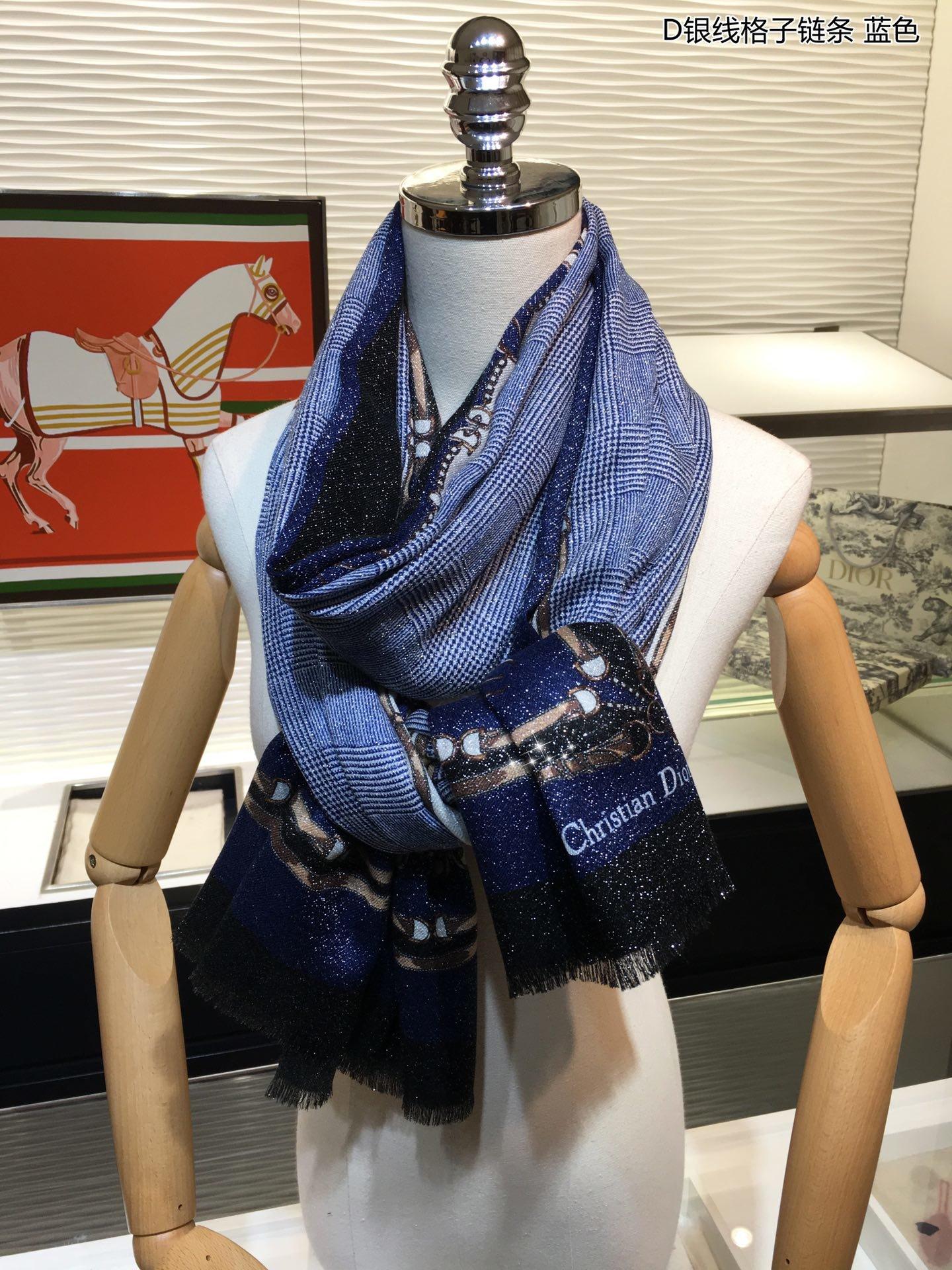 上新会发光发亮的围巾Do专柜同步上新