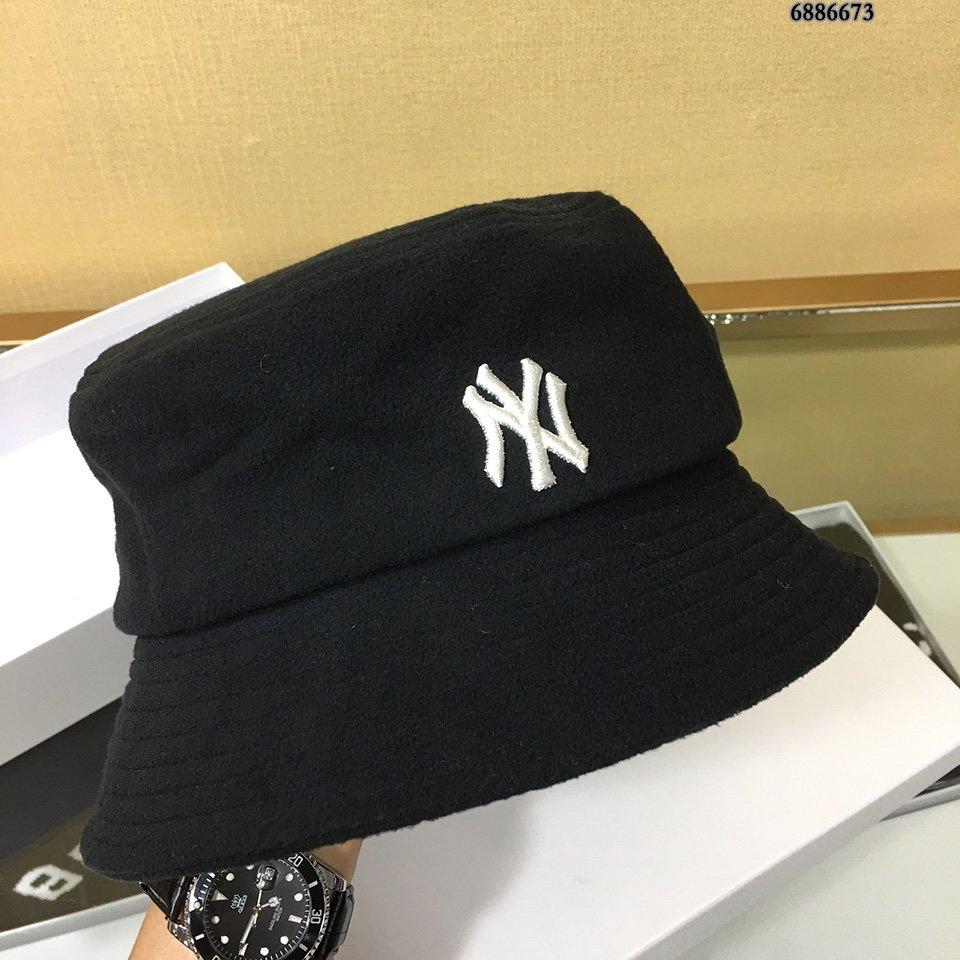 MLB新款NY爆款平顶渔夫帽明星同款