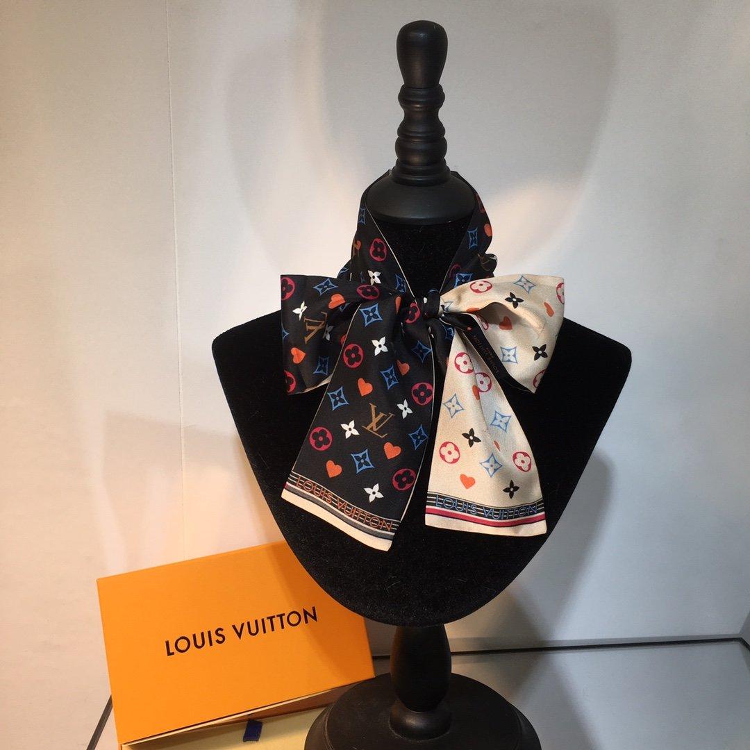 上新Lv最新双层束发带绑带.领结.飘