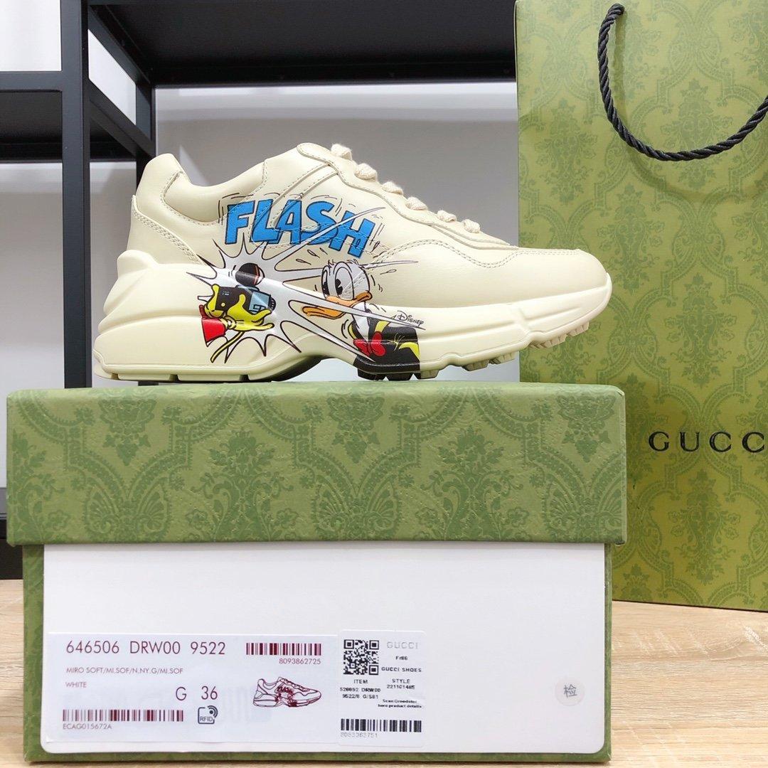 Gucci顶级版本老爹鞋系列款GG情