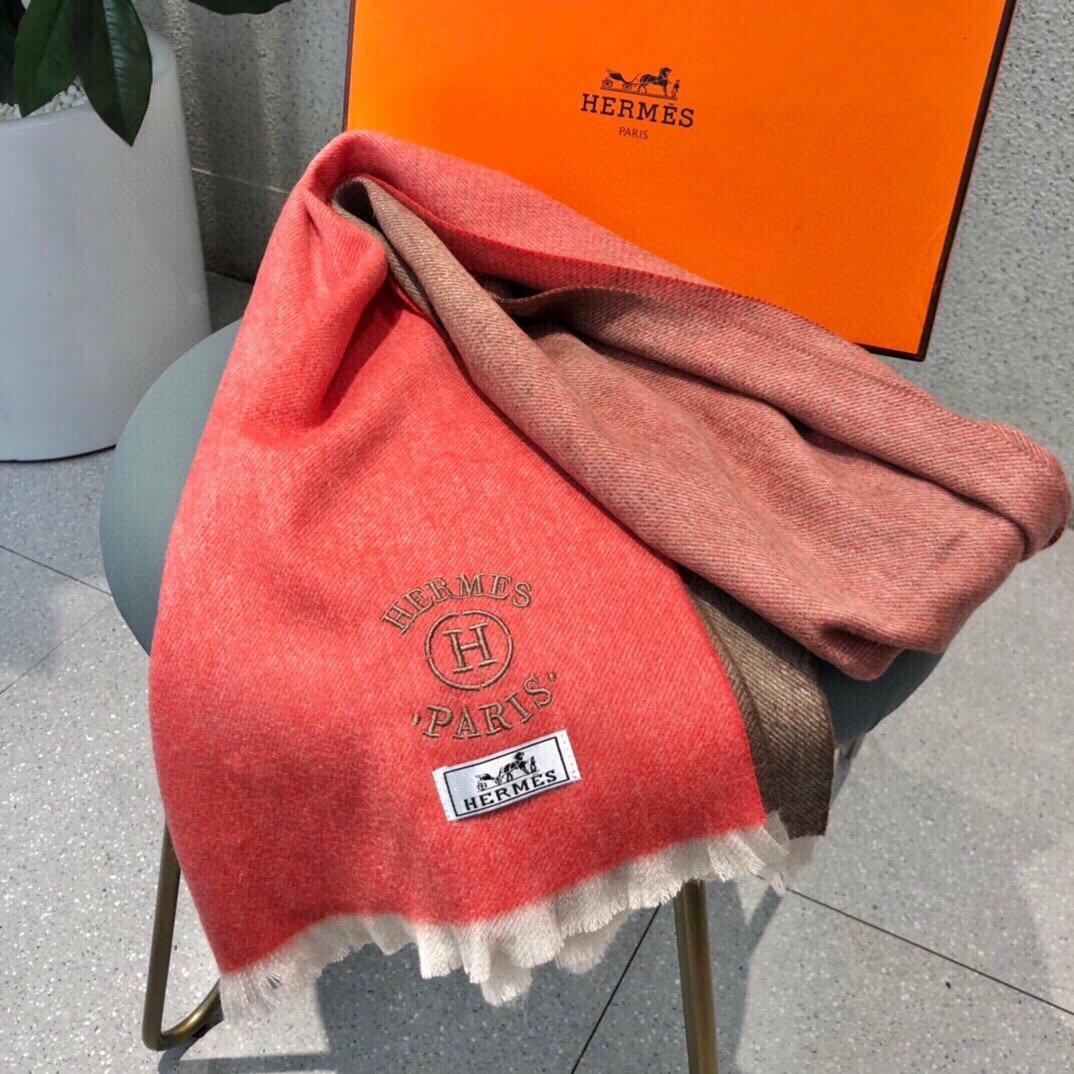 爱马仕男女同款围巾且买且珍惜羊绒款都