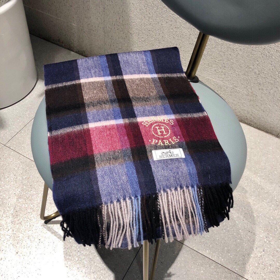 爱马仕同款围巾且买且珍惜羊绒款都是出