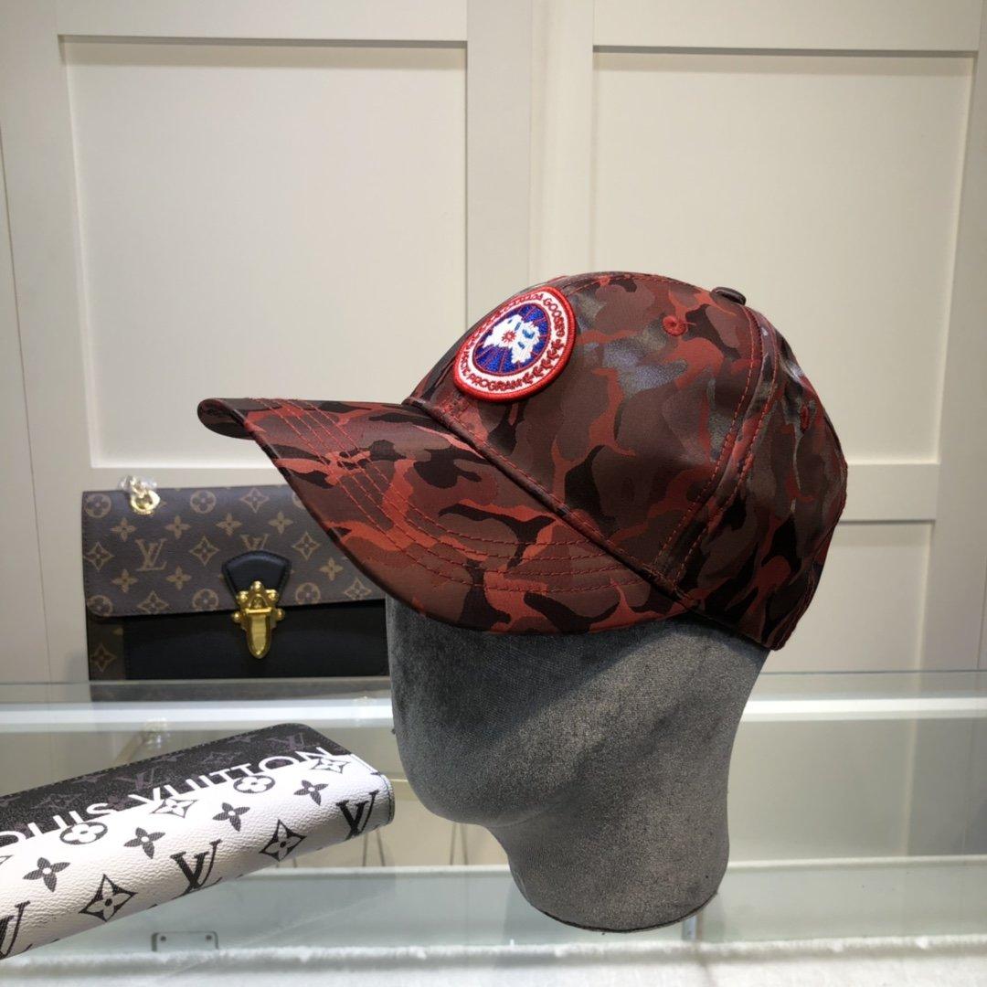 加拿大鹅2021官网最新絲棒球帽官网