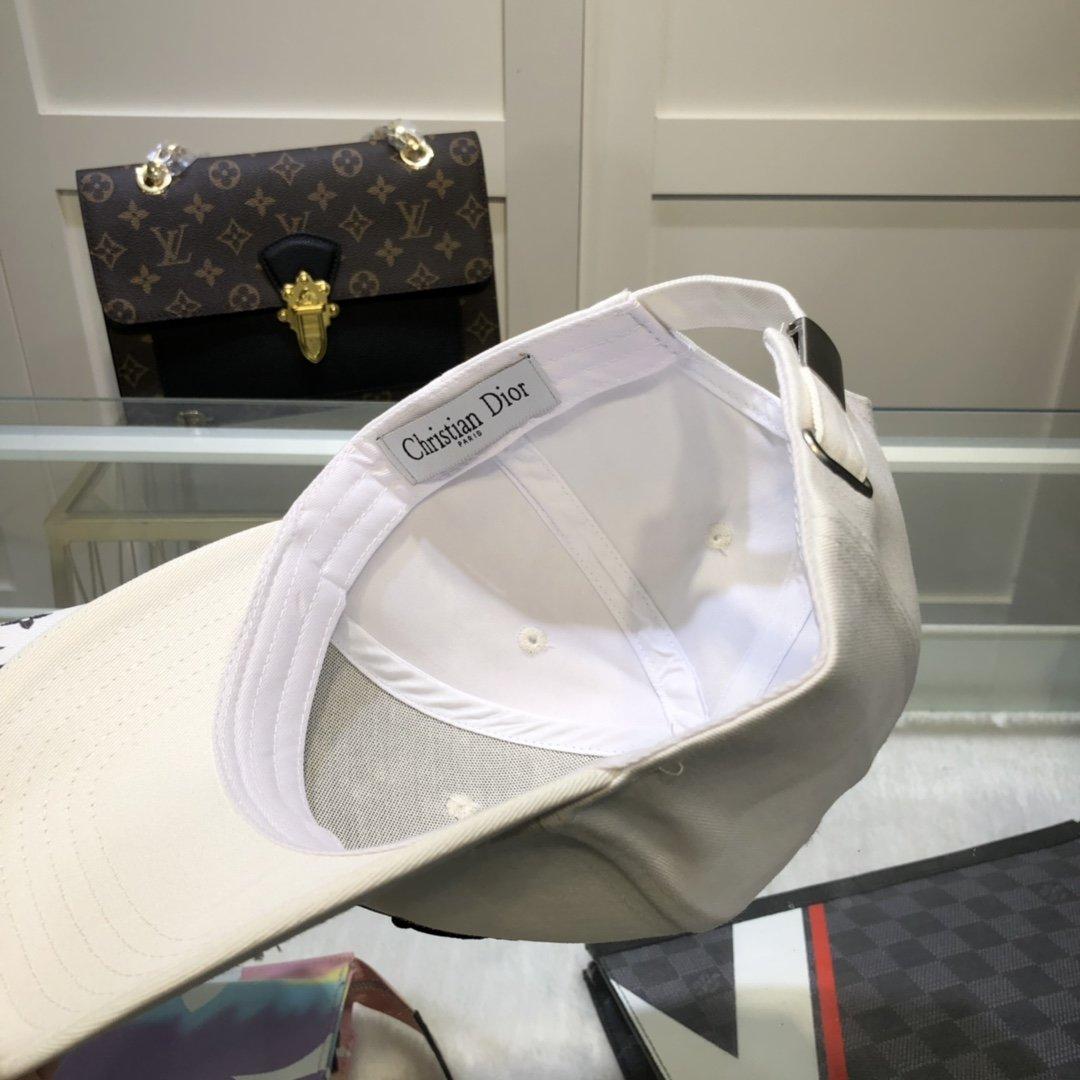 配防尘袋Dior迪奥新款原单棒球帽精