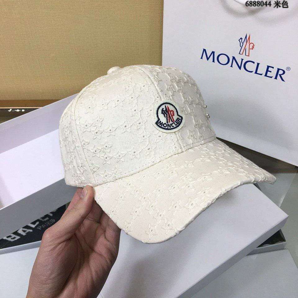 蒙口Moncler经典原单棒球帽纯棉