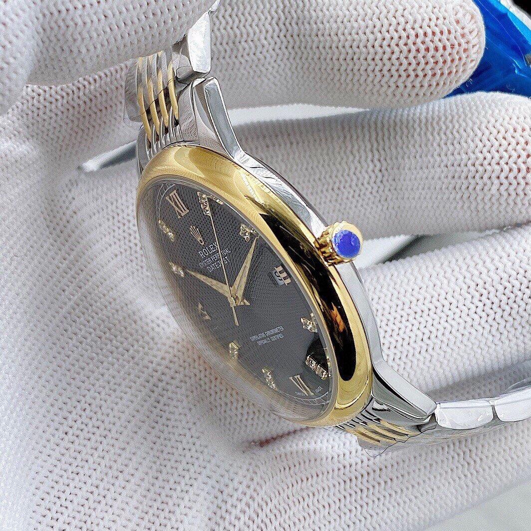 台湾厂劳力士3D立体感锅盖玻璃腕表耗