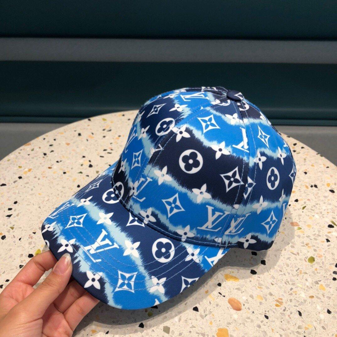 路易威登LV经典原单棒球帽帆布材质轻