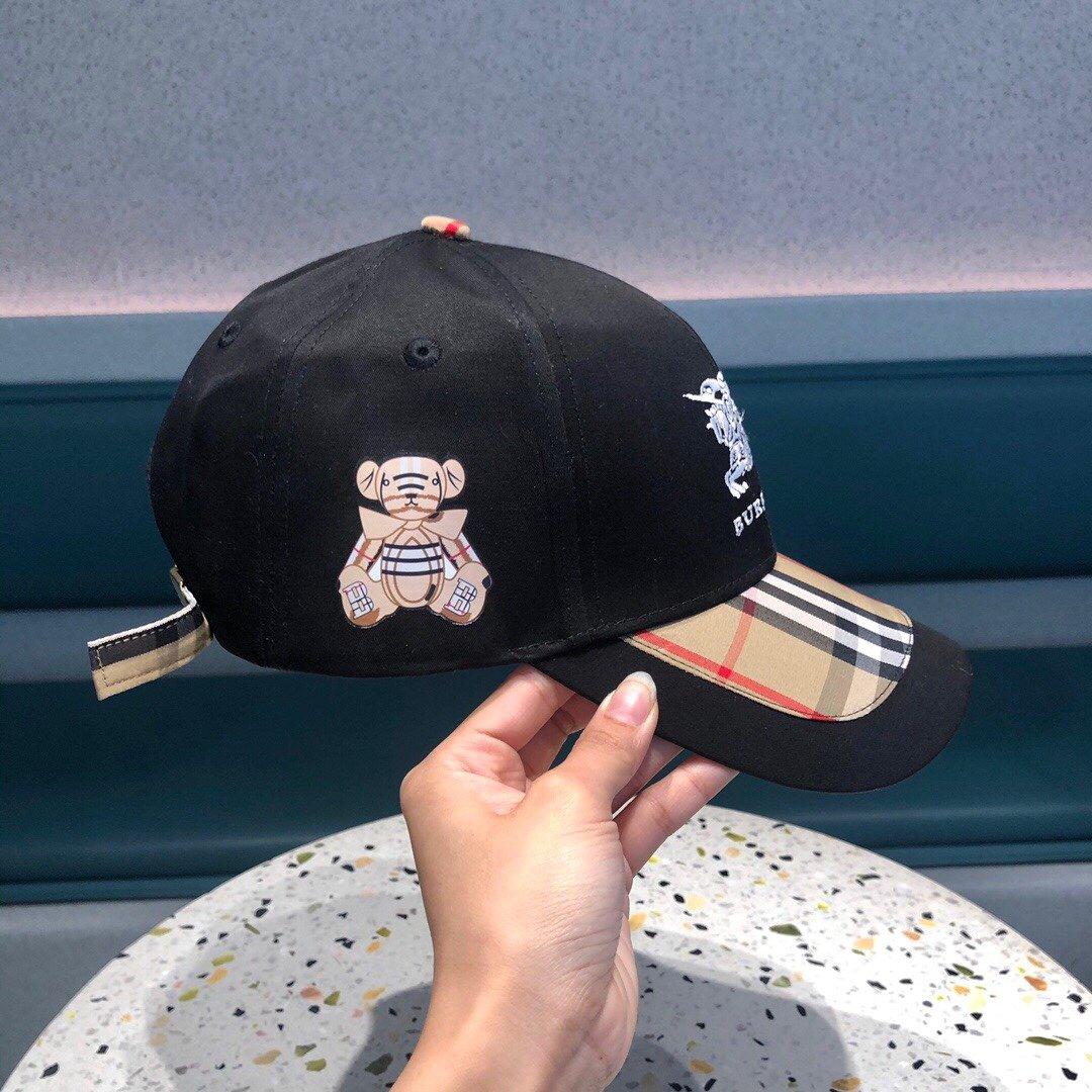 巴宝莉棒球帽2021春款美美哒简约大