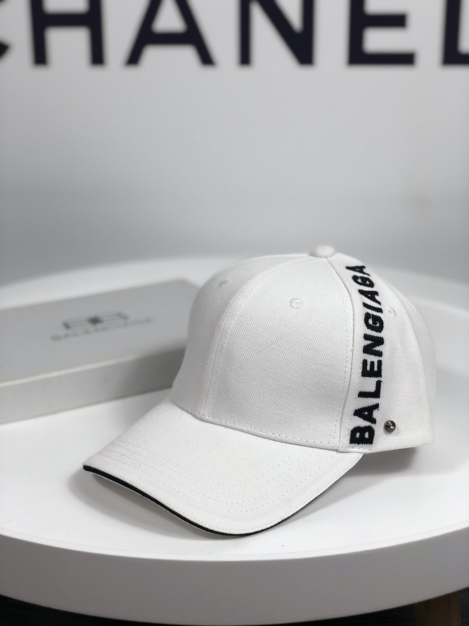 特批早春新款巴黎世家原单棒球帽纯棉材