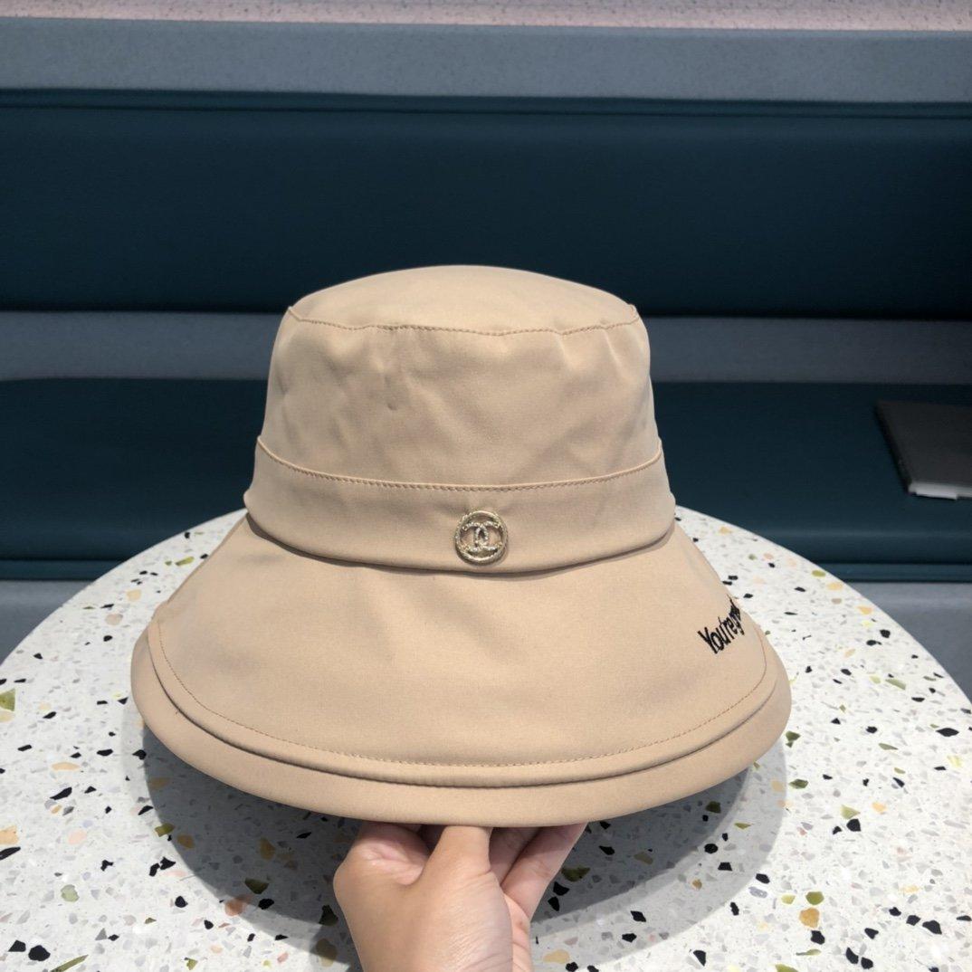 #CHANEL香奈儿春夏新款太阳帽子