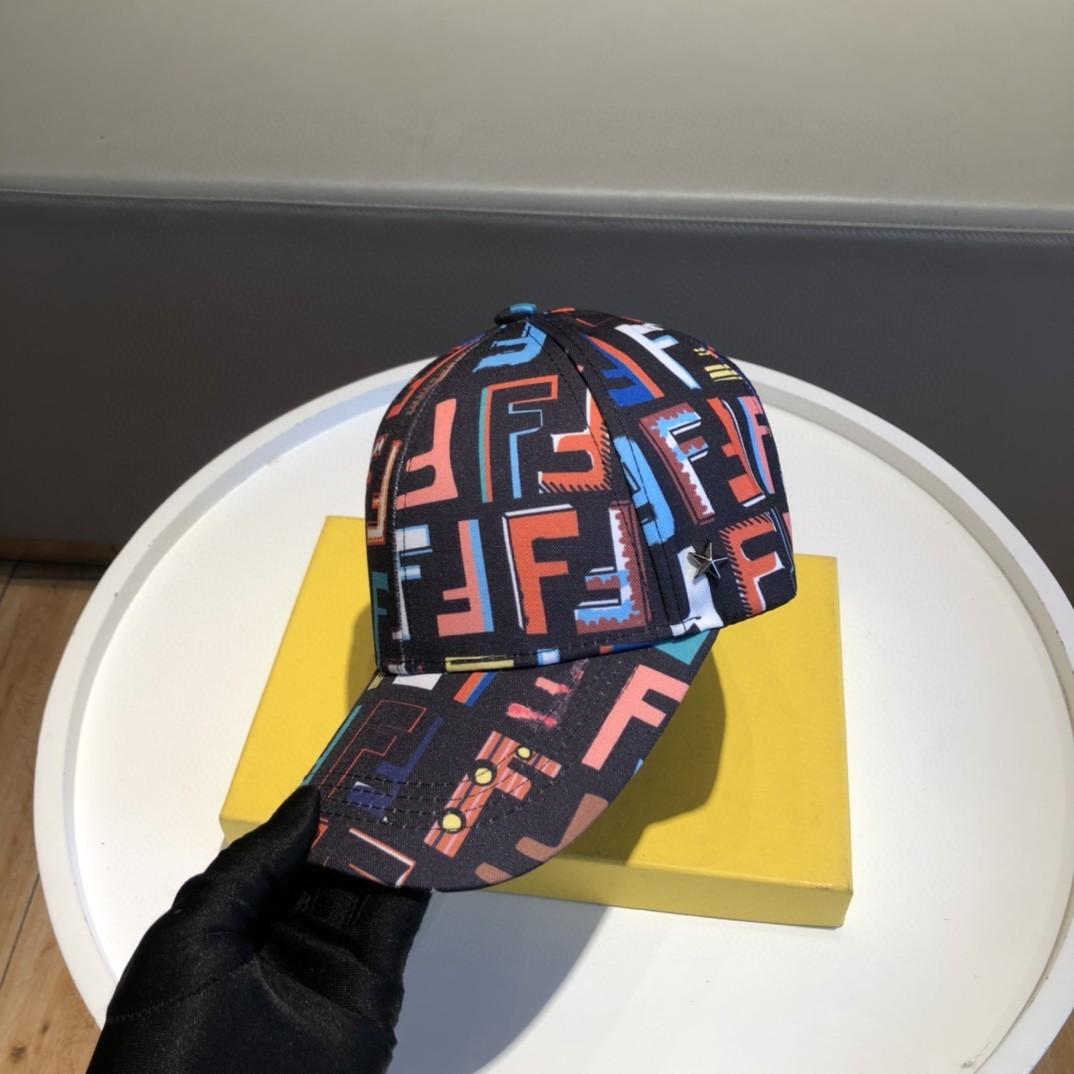 特批新款芬迪Fendi原单棒球帽高端