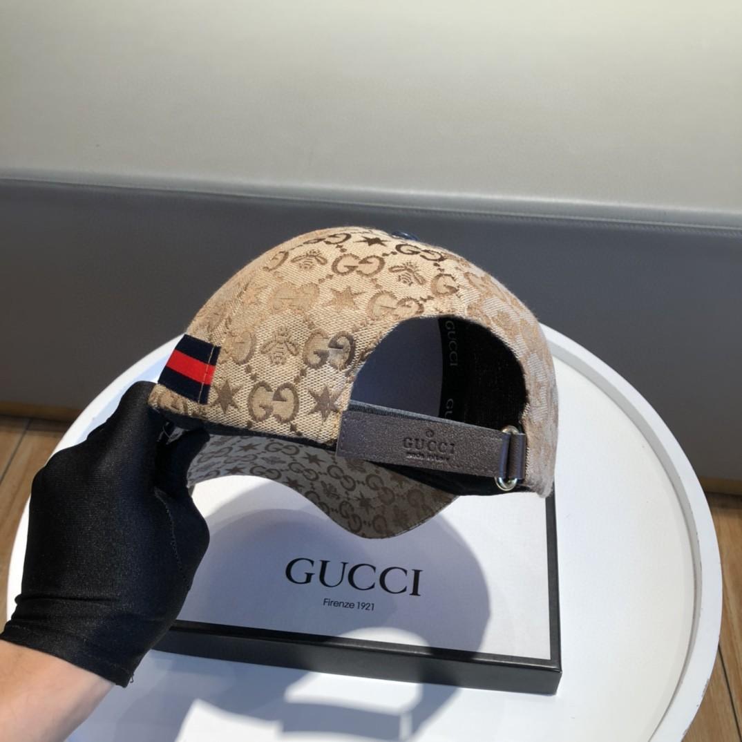 特批经典款Gucci古奇棒球帽细节做