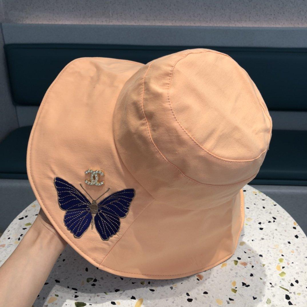 香奈儿渔夫帽最新款透气性超好细节做工