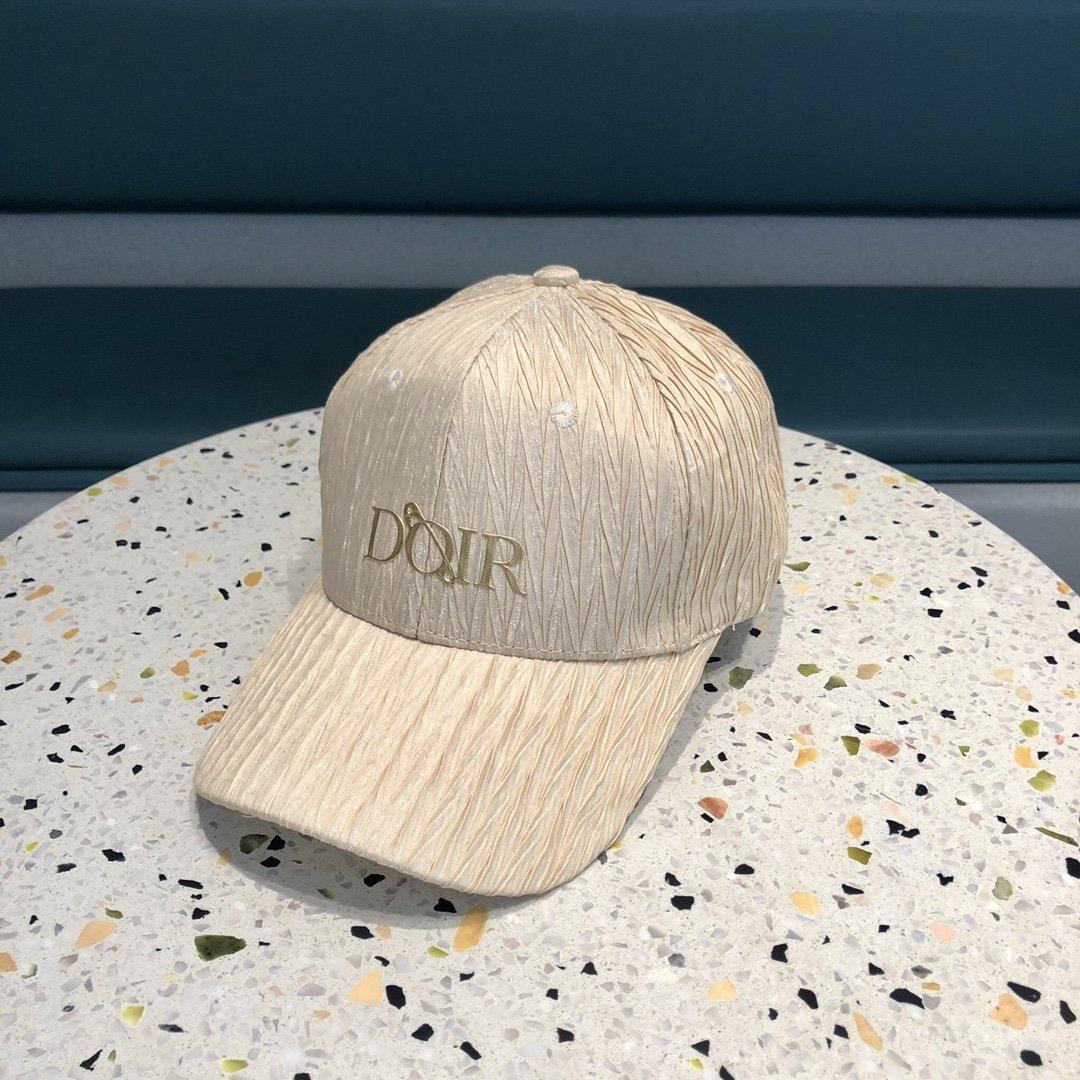 Dior迪奥新款原单棒球帽精致純也格