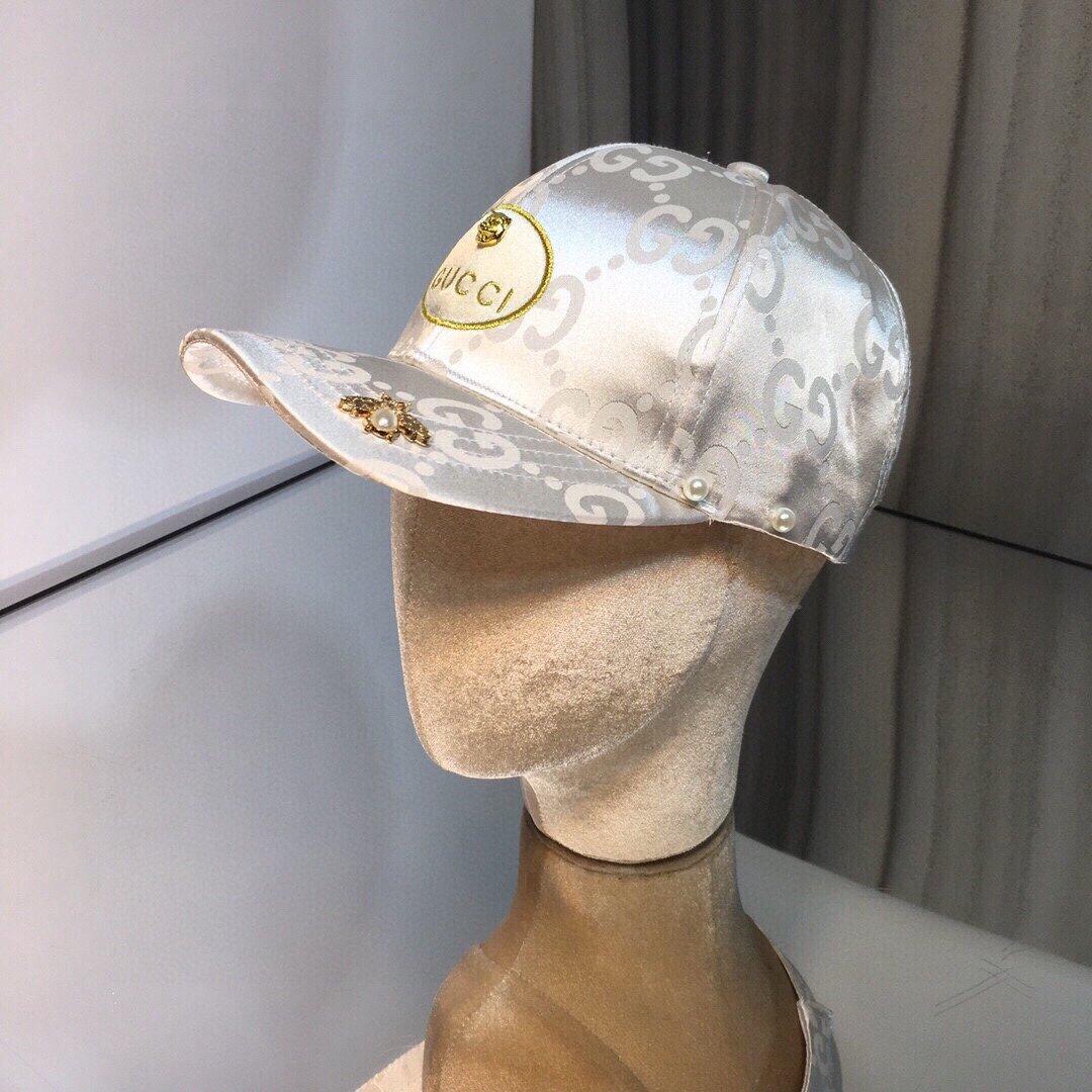 上新古奇GUCCI虎头刺绣图棒球帽G