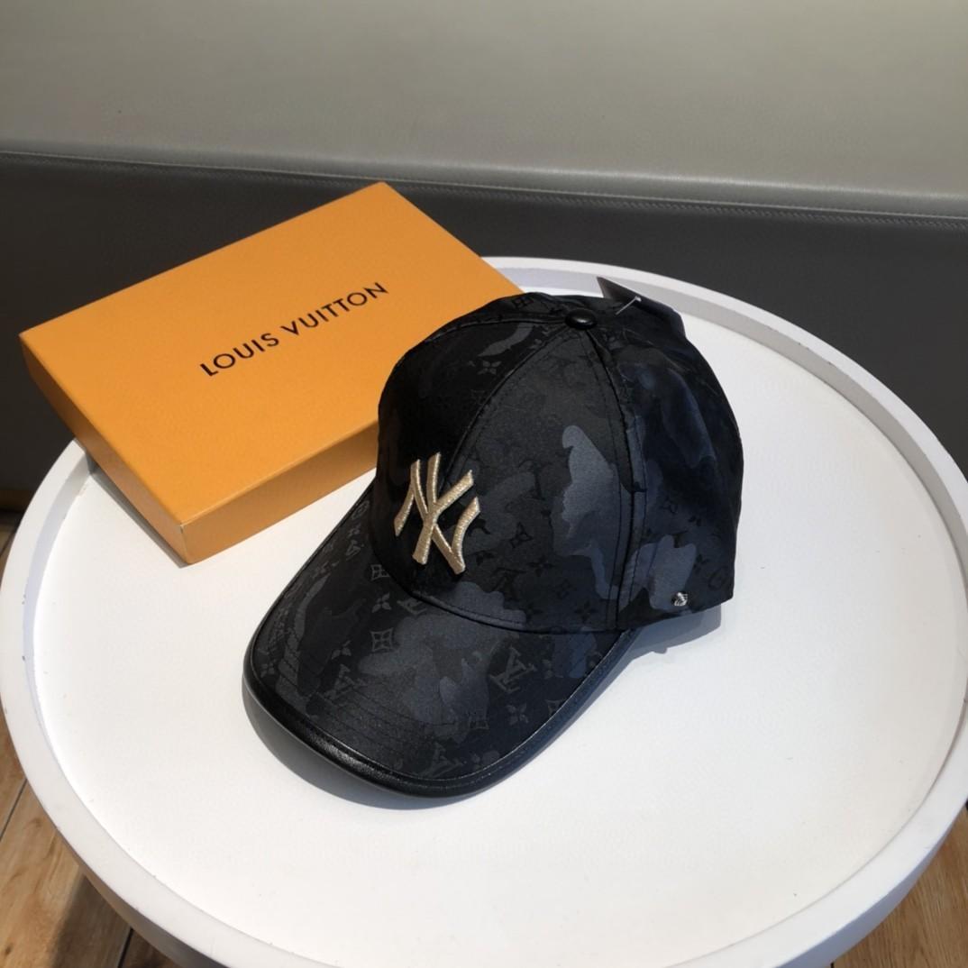 特批Lv联名款NY2021新款风棒球