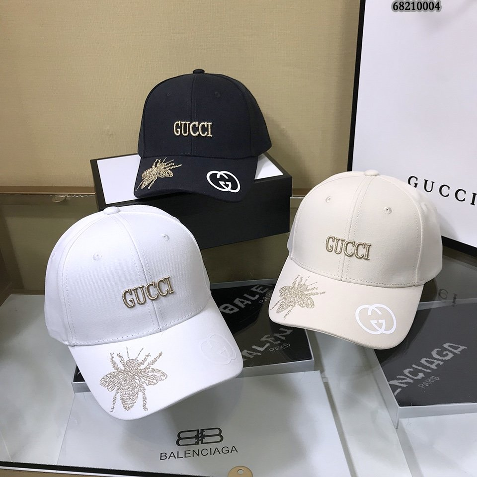 Gucci古琦21新款刺绣棒球帽!重