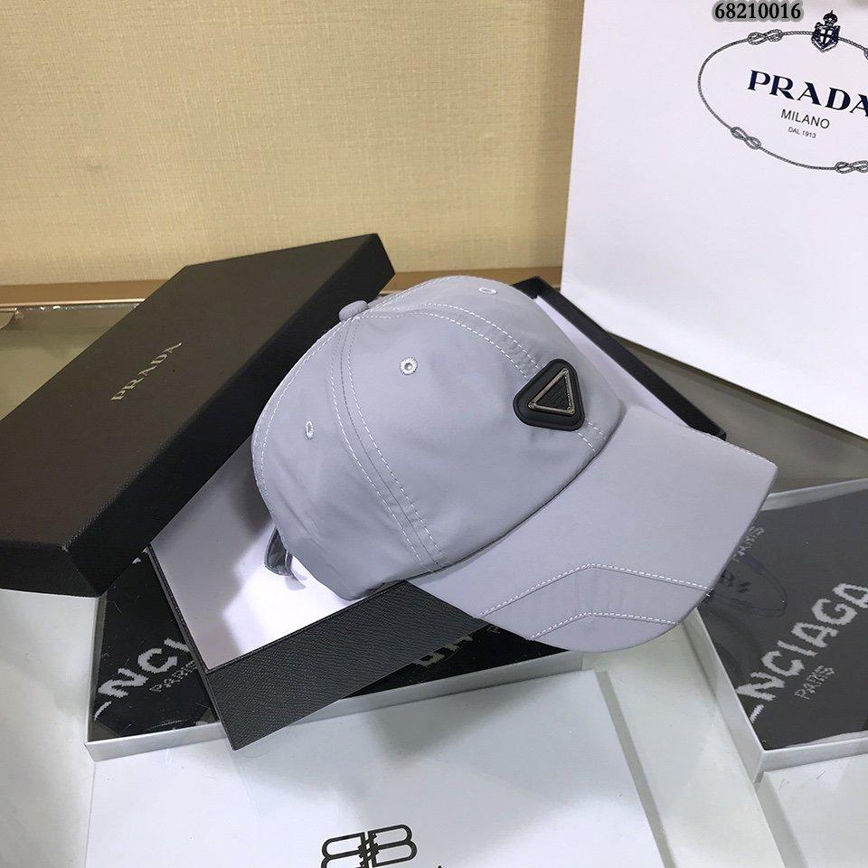 PRADA普拉达棒球帽最新设计简约大