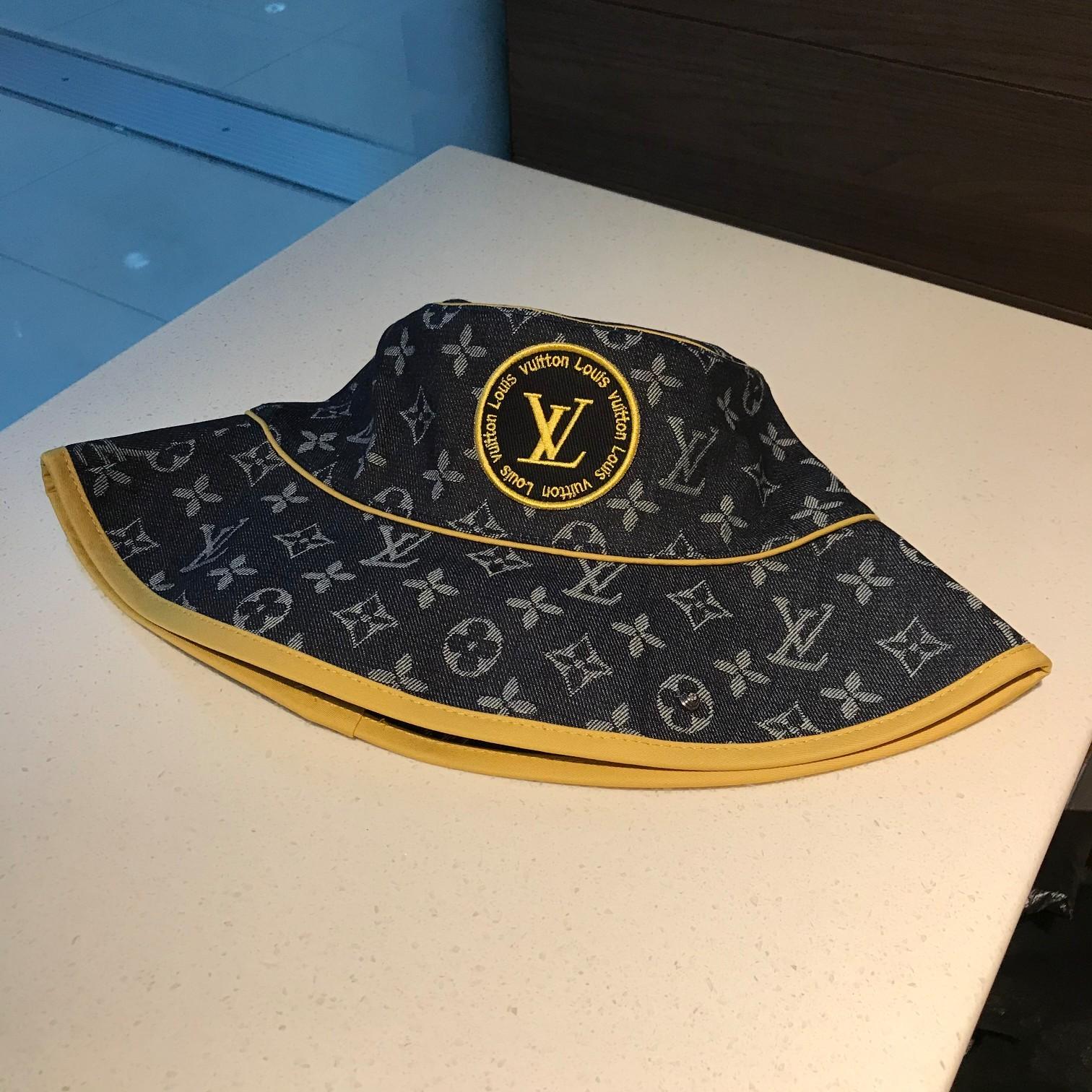 特批LV路易威登渔夫帽采用高级丝棉面