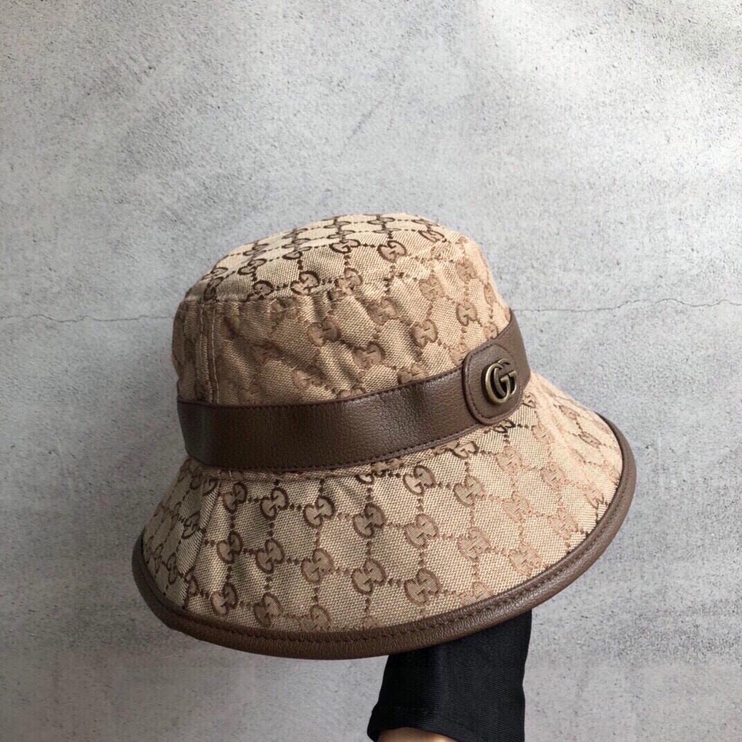 特价Gucci古琦新款原单渔夫帽包边
